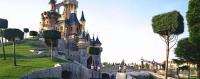 side view Sleeping Beauty Castle - Disneyland Paris