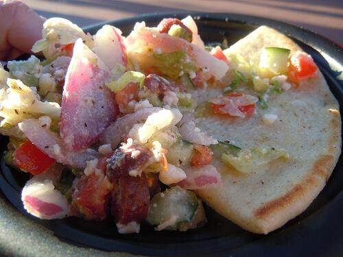 Greece - Greek Salad with Pita Bread