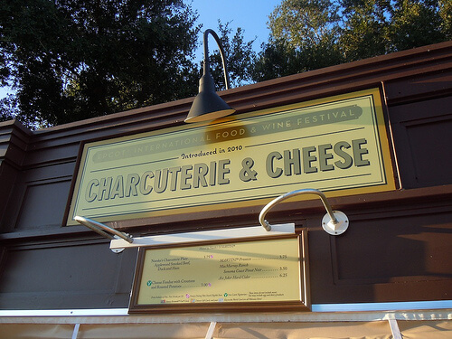 Charcuterie & Cheese sign