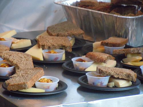 Ireland cheese plate