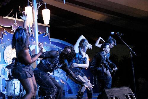 Dancers in Club X