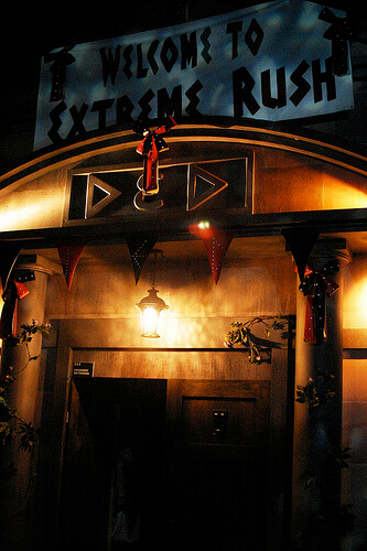 DEDer - Extreme Rush haunted house