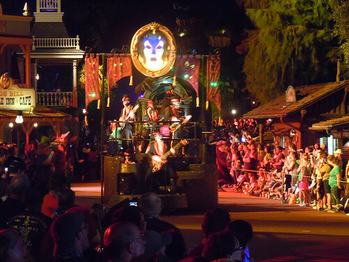 Villains Rock in the Boo To You parade