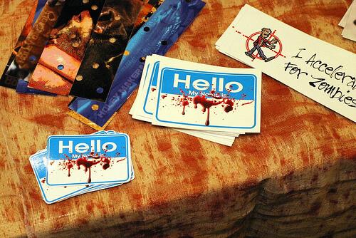 Spooky Empire merchandise