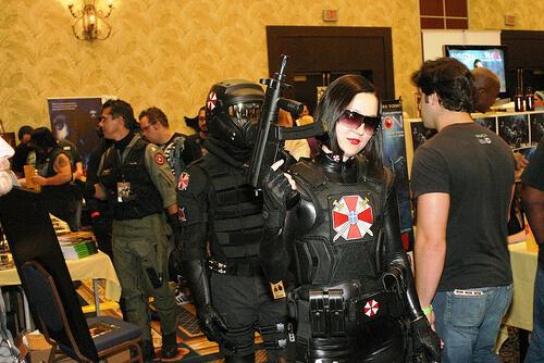 Spooky Empire costumes