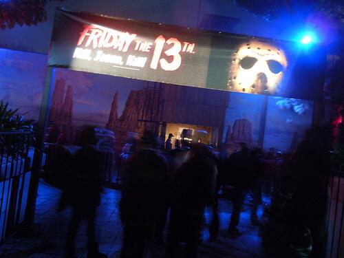 Friday the 13th - Kill, Jason Kill! haunted house