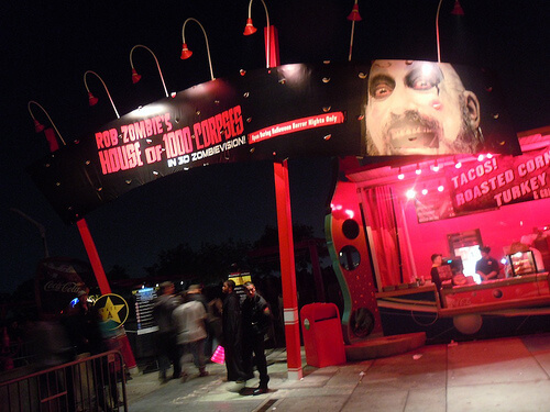Rob Zombie's House of 1000 Corpses haunted house