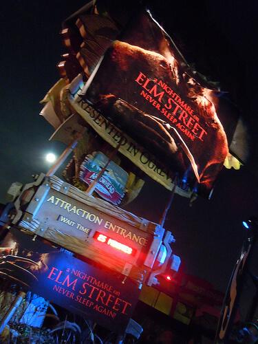 A Nightmare on Elm Street - Never Sleep Again haunted house