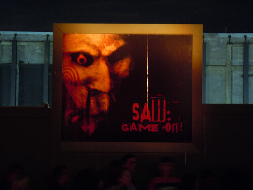 Saw: Game On haunted house