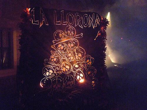 La Llorona scare zone