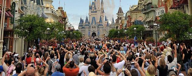 the magic kingdom florida. at the Magic Kingdom with