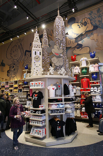 Disney Store Times Square grand opening