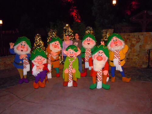 Seven Dwarves meet and greet