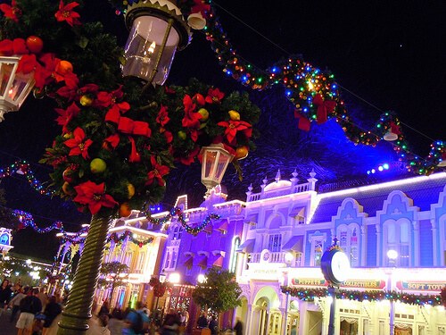 Main Street Christmas time