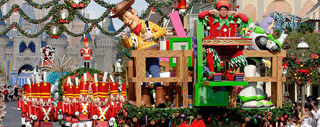 Sign up for tickets to 2010 Disney Parks Christmas Day Parade taping at the Magic Kingdom on Dec. 3 and 4