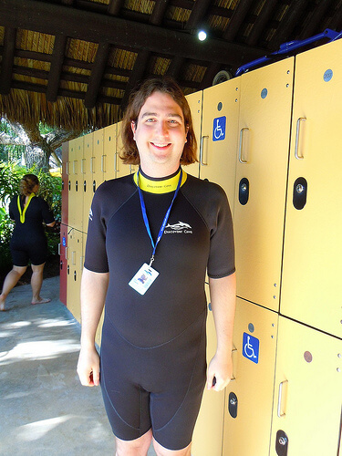Ricky Brigante at Discovery Cove
