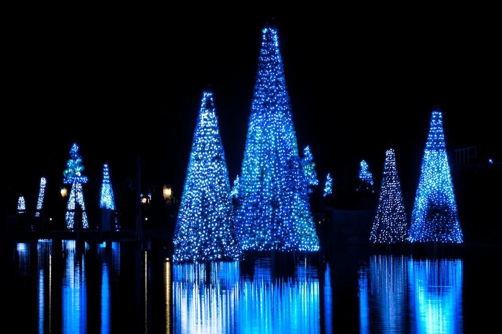 Video: SeaWorld Orlando's Christmas Celebration 2010 including the ...