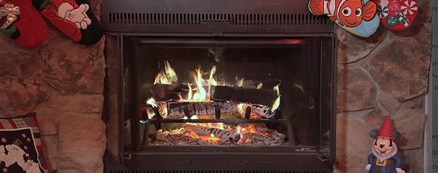 Today Disney unveiled a Christmas Yule Log video for you and your family to enjoy while sitting by the tree and unwrapping presents this year. Just 15-minu