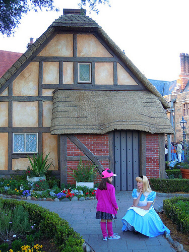 Alice in Wonderland (in the UK)