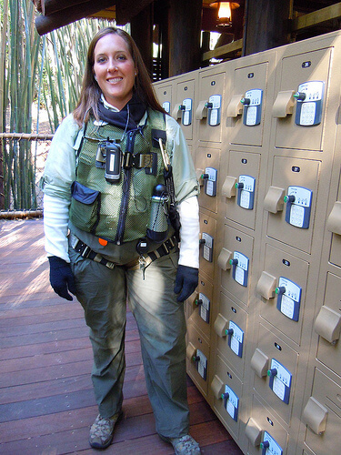 Wild Africa Trek guide and lockers