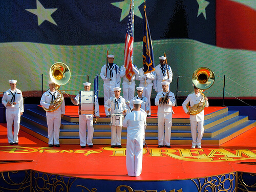 Navy band - Disney Dream Christening