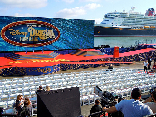 Stage - Disney Dream Christening