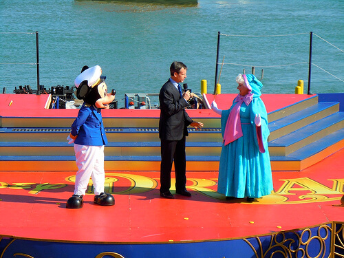 Mickey Mouse, Tom Staggs, Fairy Godmother - Disney Dream Christening
