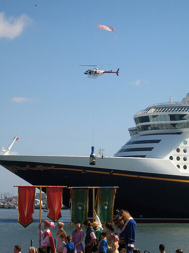 Helicopter - Disney Dream Christening