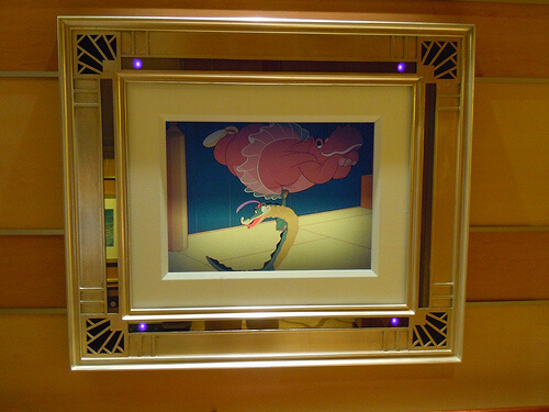 Disney Dream enchanted art - Fantasia