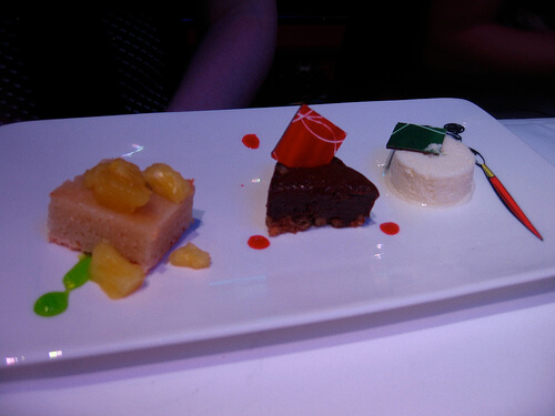 Dessert sampler - Animator's Palate, Disney Dream