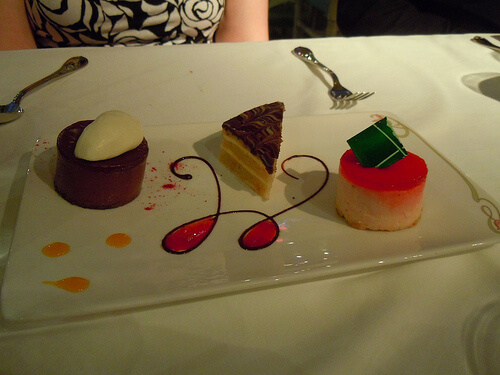 Dessert trio - Enchanted Garden