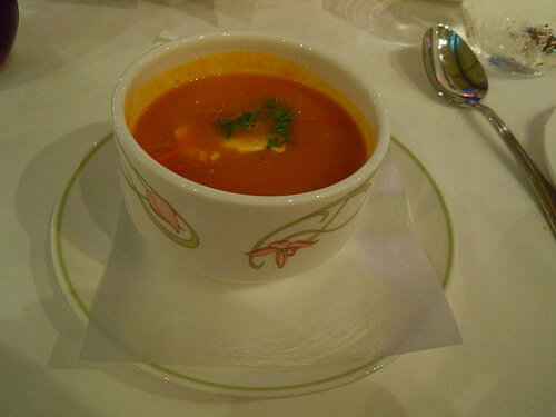 Carrot & apple soup - Enchanted Garden