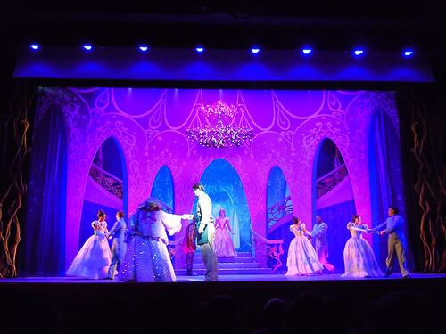 Princesses - Believe stage show