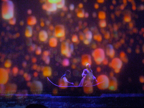 Rapunzel and Flynn Ryder / Tangled - Golden Mickeys