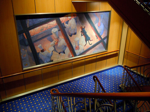 Ratatouille art - Disney Dream