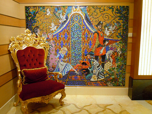 Cinderella tile mosaic - Disney Dream