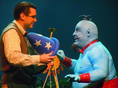Genie - Believe stage show