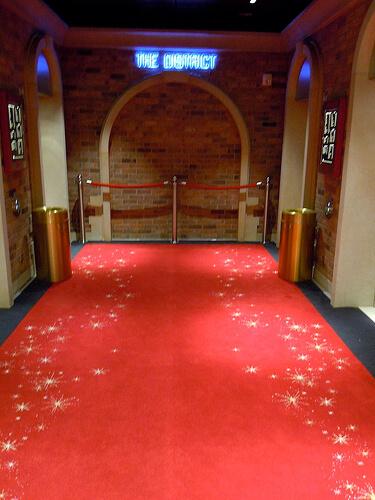 The Disctrict themed elevator area - Disney Dream