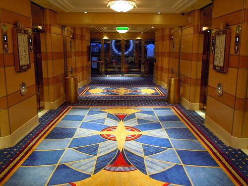 Midship elevators - Disney Dream