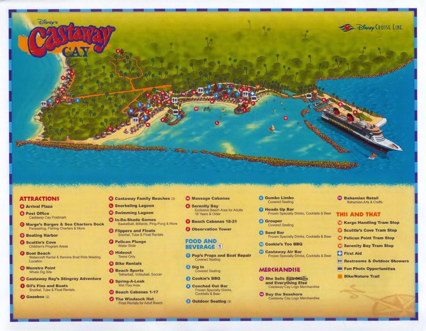 Disney Cruise Island Map