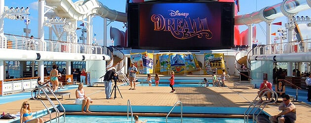 Video Explore The Disney Dream Cruise Ship S Main Decks