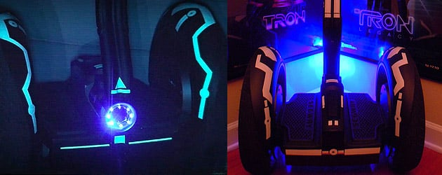 My newly-customized TRON Segway i2 inspired by Disney's Tron Legacy