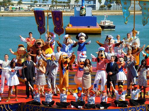 Group - Disney Dream Christening