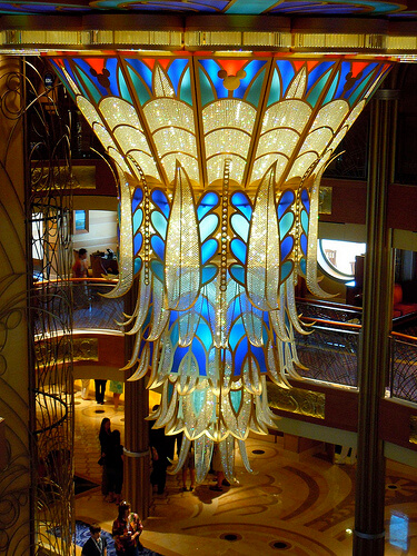 Main lobby - Disney Dream