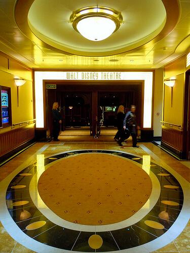 Walt Disney Theater entrance - Golden Mickeys