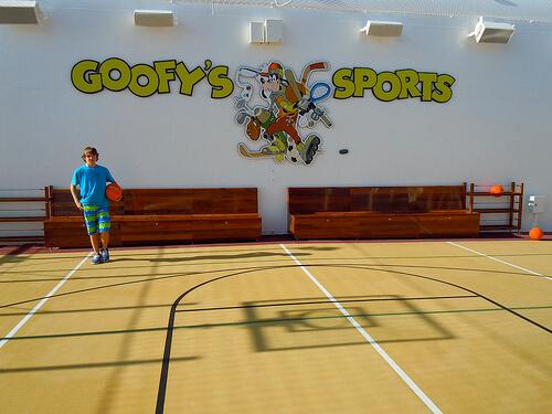 Goofy's Sports Basketball - Disney Dream