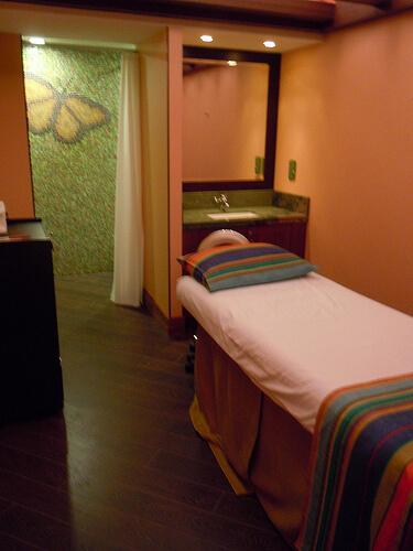 Massage room - Senses Spa