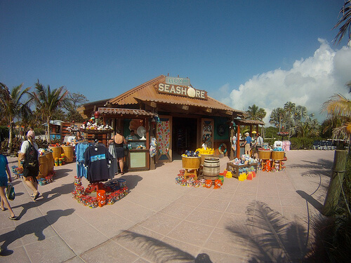 Store - Castaway Cay