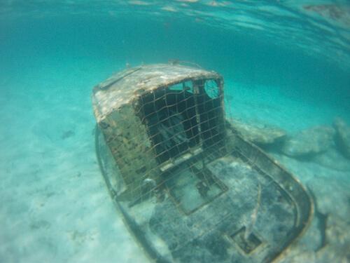 Sunken Boat - Castaway Cay