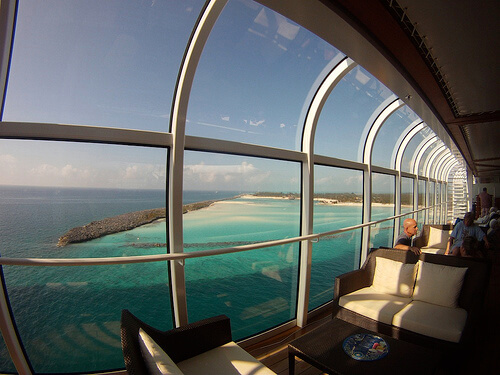 View of Castaway Cay from Disney Dream